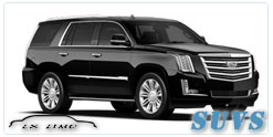 SUV for hire in Calgary
