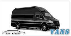 Luxury Van service in Calgary