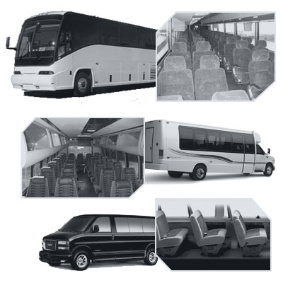 Calgary Coach Bus rental