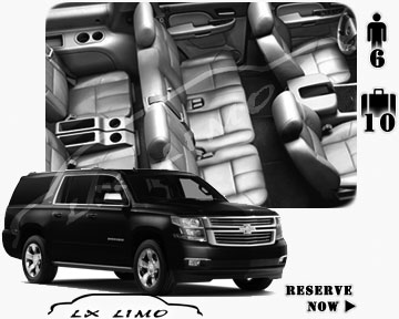SUV Suburban for hire in Calgary