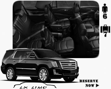 SUV Escalade for hire in Calgary AB