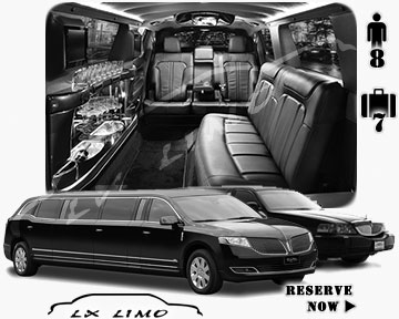 Stretch TownCar Limo for hire in Calgary AB